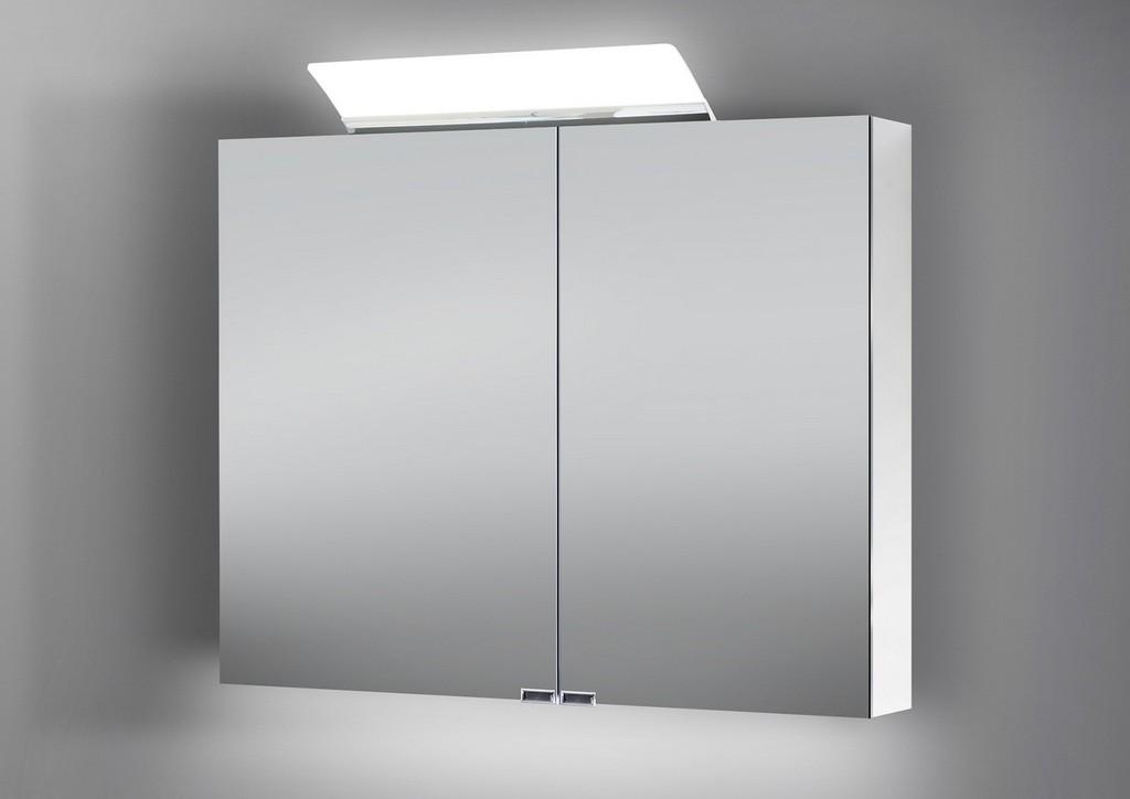 Spiegelschrank 90 Cm Led Beleuchtung Doppelseitig Verspiegelt regarding proportions 1600 X 1132