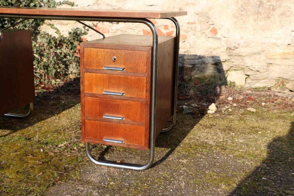 Stahlrohr Schreibtisch 30er Jahre Deisgn Vintage Mbel Antik Zoneat with regard to proportions 1200 X 800