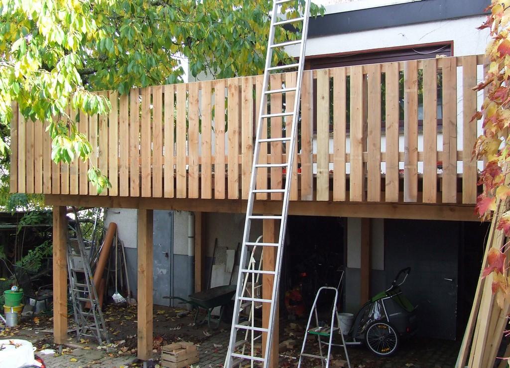 Terrasse Auf Stelzen Haussanierung inside dimensions 2478 X 1789