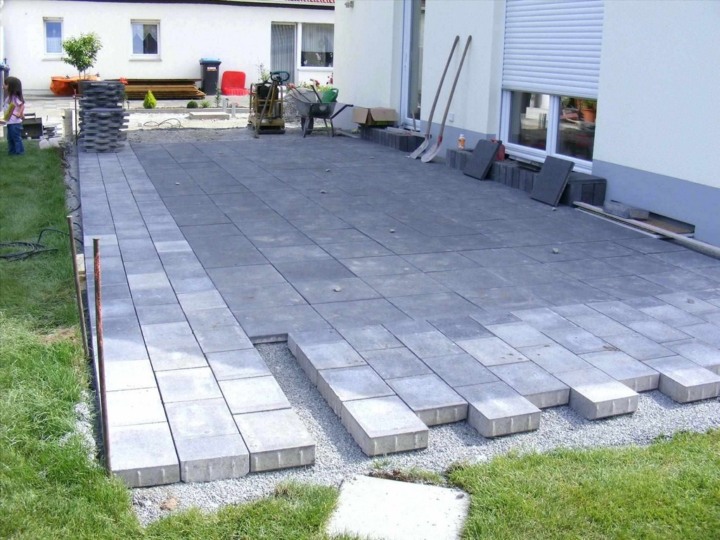 Terrasse Bauen Stein Projectmobility4x4 for size 1900 X 1425