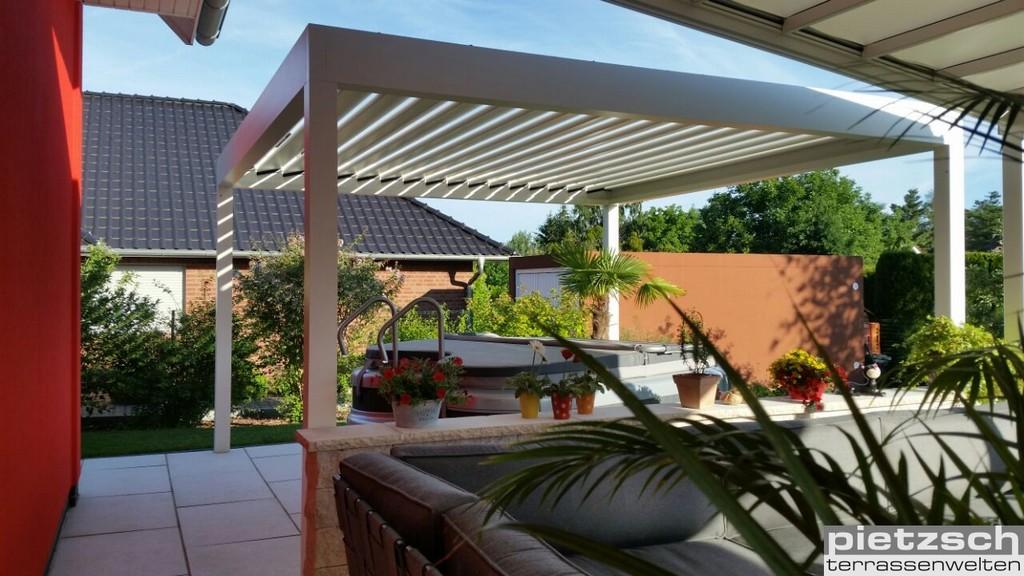Terrassen Pavillon Genieen Sie Ihre Terrasse Bei Jedem Wetter in dimensions 1280 X 720