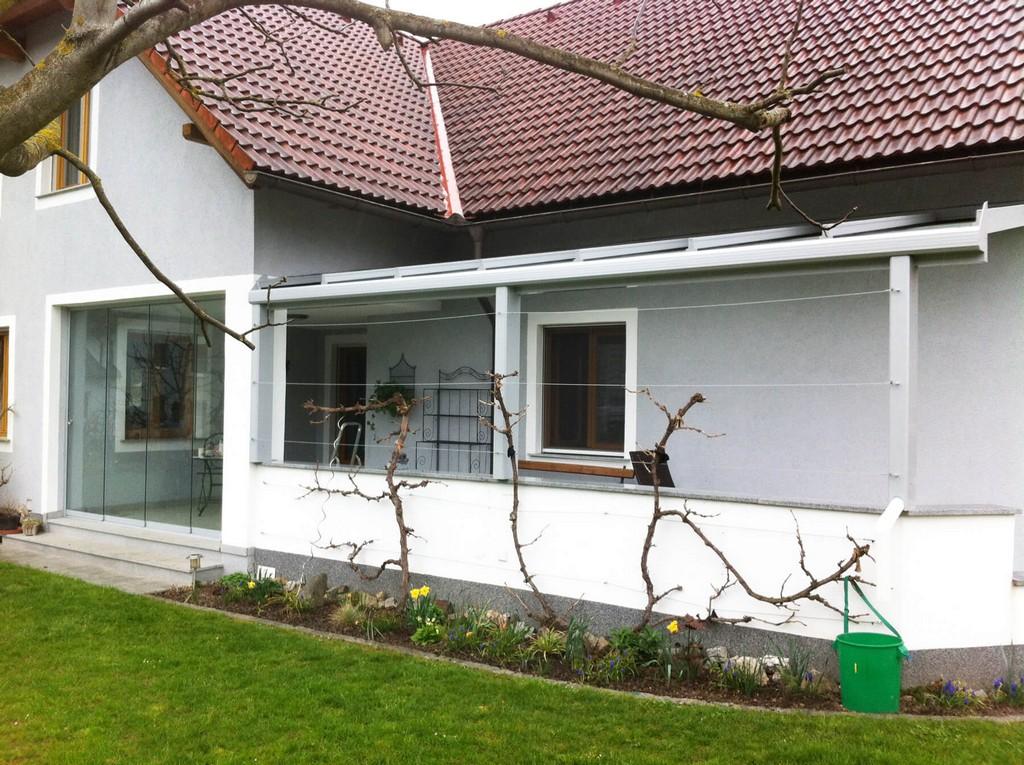 Terrassenberdachung Nach Ma In Alu Fenster Schmidinger inside proportions 1800 X 1344