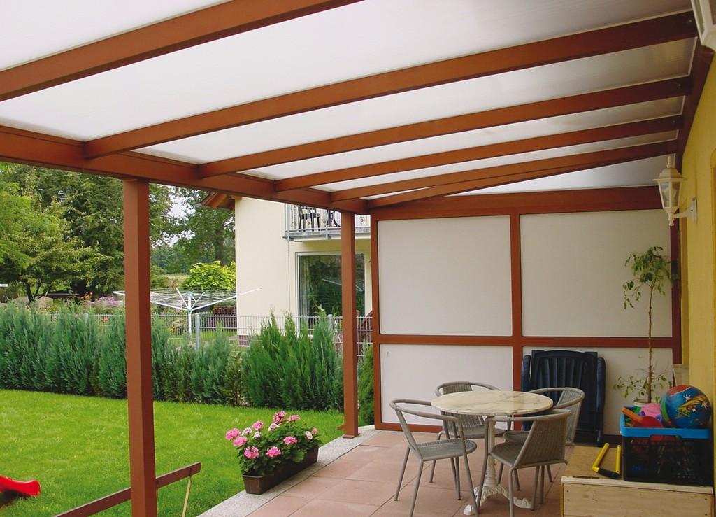 Terrassenberdachung Sind Doppelstegplatten Oder Glas Besser for sizing 2126 X 1535