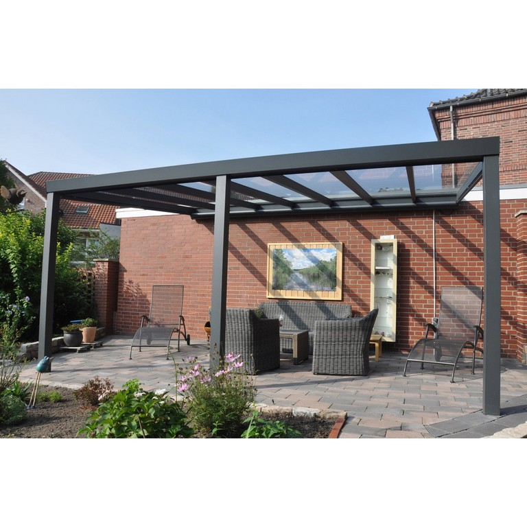 Terrassenberdachung Struktur Anthrazit Vs Glas 500 X 400 Cm Kaufen with measurements 1500 X 1500