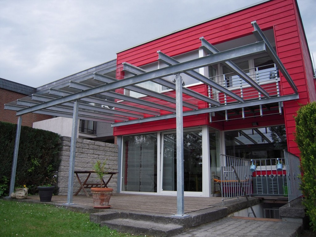 Terrassendach Stahl Glas Frbel Metallbau with regard to measurements 1600 X 1200