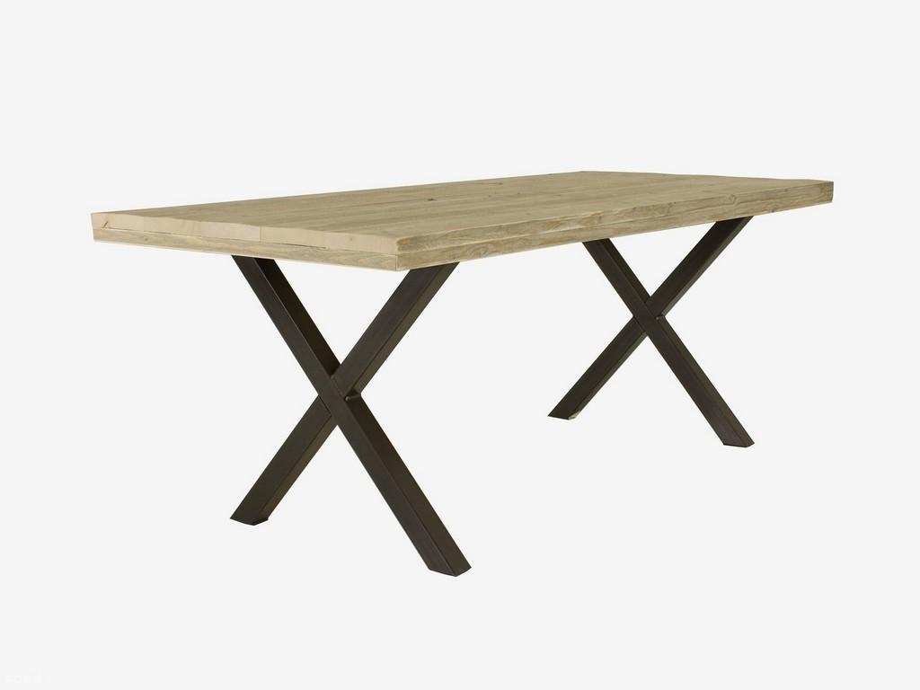 Tisch Industriedesign Mit X Tischbeinen Industrial Design Mbel with regard to measurements 2000 X 1500