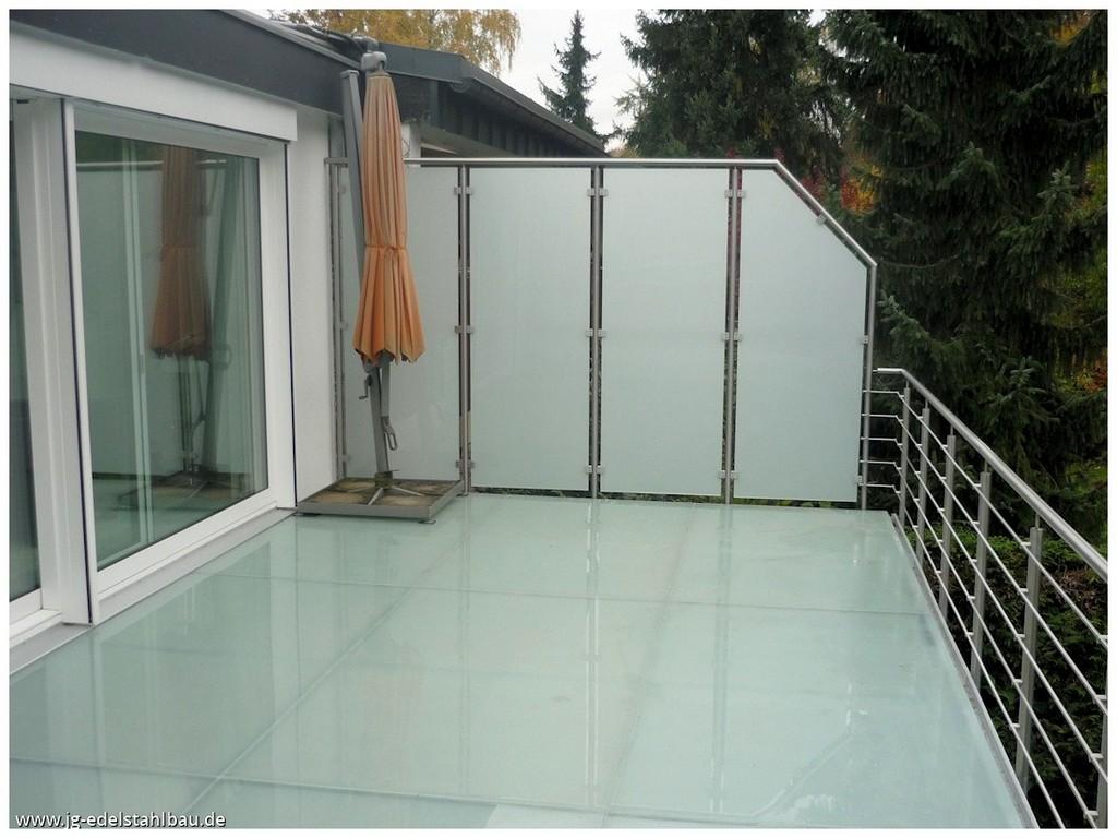 Trennwand Terrasse 205157 Trennwnde Sichtschutz Jg Edelstahlbau with regard to proportions 1100 X 825