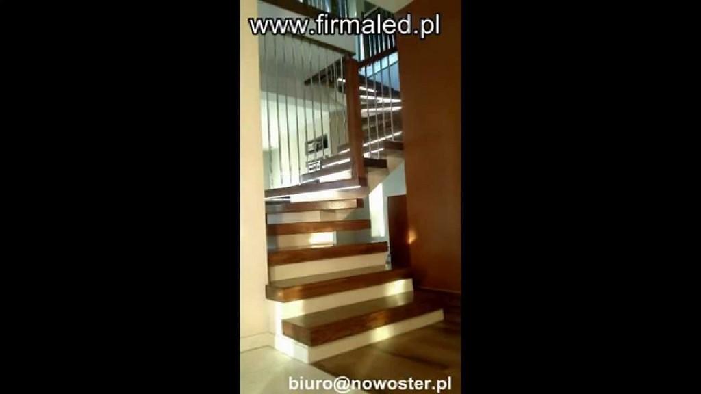 Treppen Mit Der Led Beleuchtung Sensorgesteuerten Nowoster inside sizing 1280 X 720