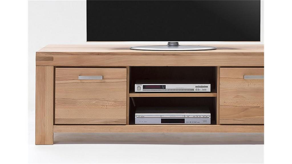Tv Kommode 2 Kira Tv Board In Kernbuche Massiv Gelt pertaining to proportions 1500 X 844