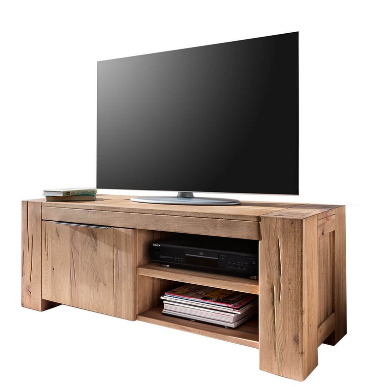 Tv Lowboard Gran In Eiche Natur Gelt 130 Cm inside size 1200 X 1200