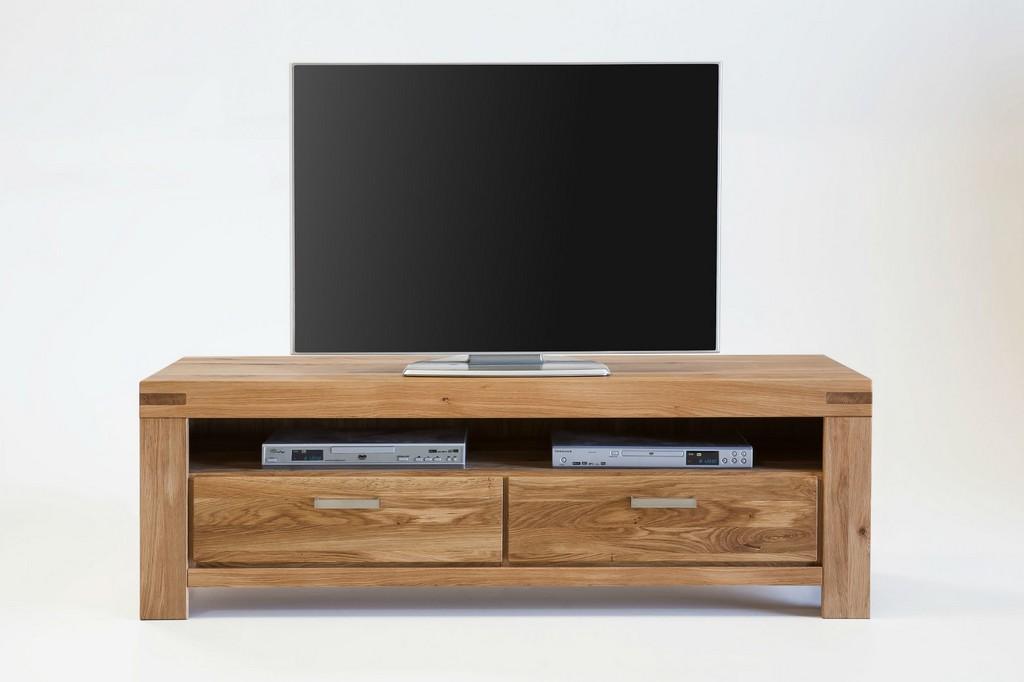tv schrank massivholz kira 155cm mit schubladen von elfo gnstig for sizing 1600 x 1066