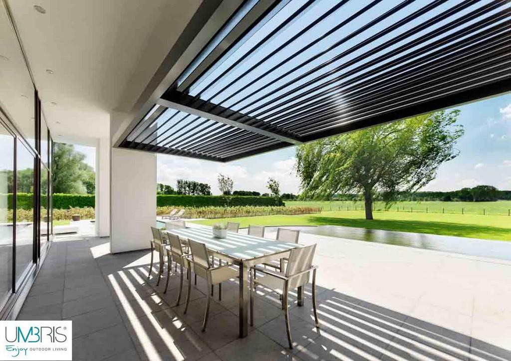 lamellen berdachung terrasse haus ideen. Black Bedroom Furniture Sets. Home Design Ideas