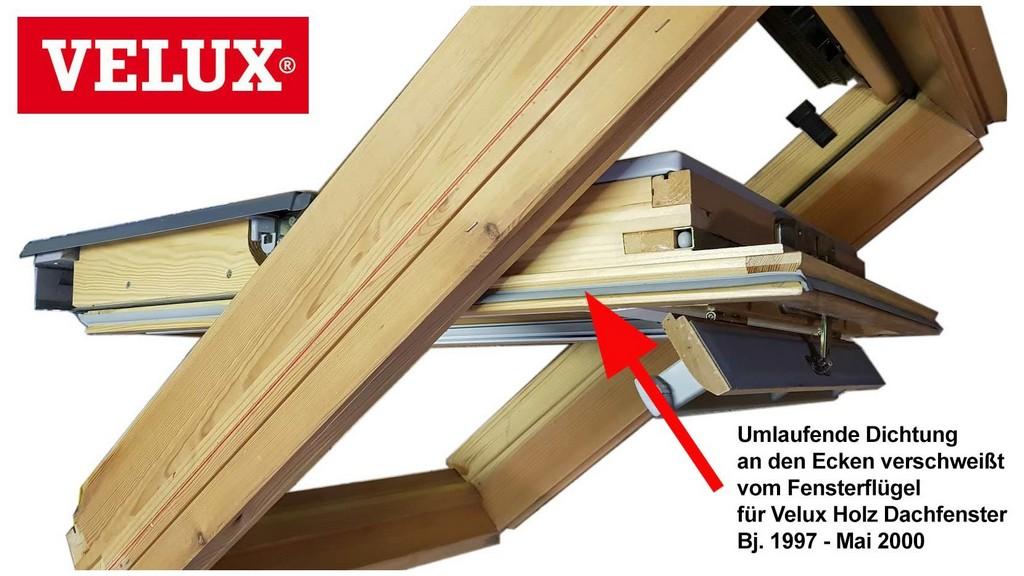 Velux Fenster Dichtung 394544 Velux Gleitdichtung Umlaufend Fr within measurements 1659 X 933