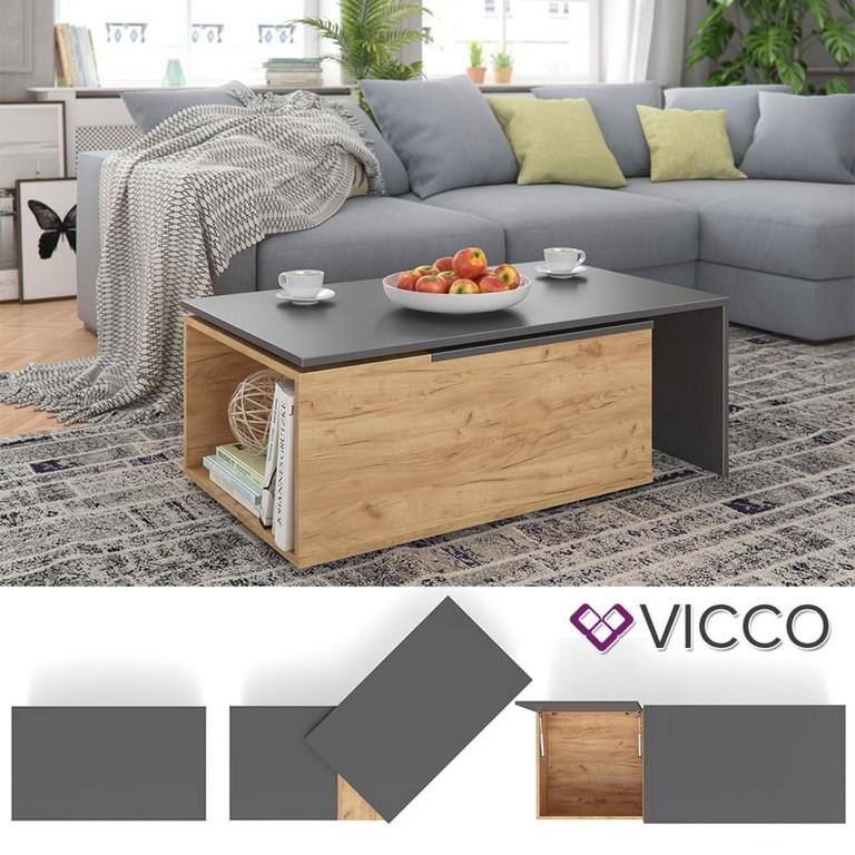 Vicco Couchtisch 60x100 Cm Wohnzimmertisch Real throughout measurements 1024 X 1024