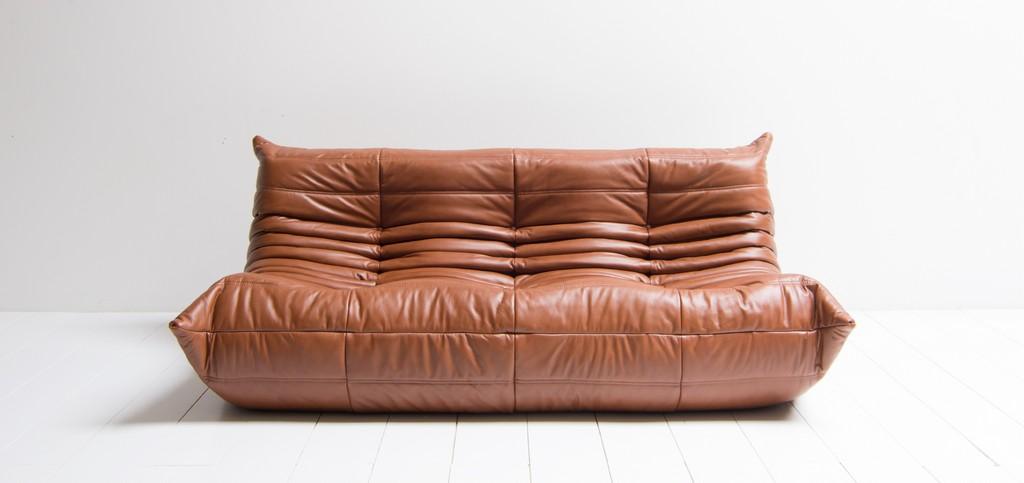 Vintage Design Ligne Roset 3 Seater Sofa Model Togo Mariekke within size 2650 X 1250