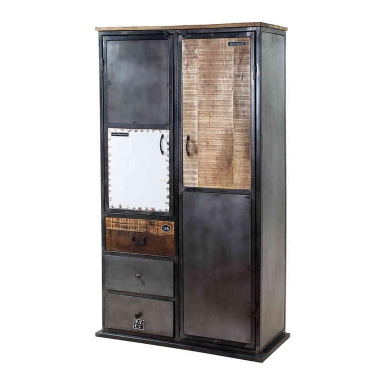 Vintage Look Schrank Vintage Heavy Metal Design intended for measurements 1000 X 1000