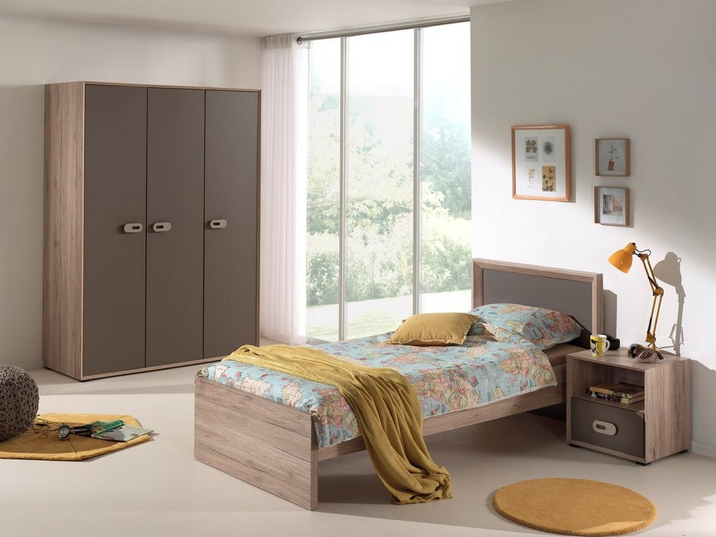 Vipack 3 Tlg Schlafzimmer Set Emma 90 X 200 Cm Bewertungen inside proportions 1067 X 800