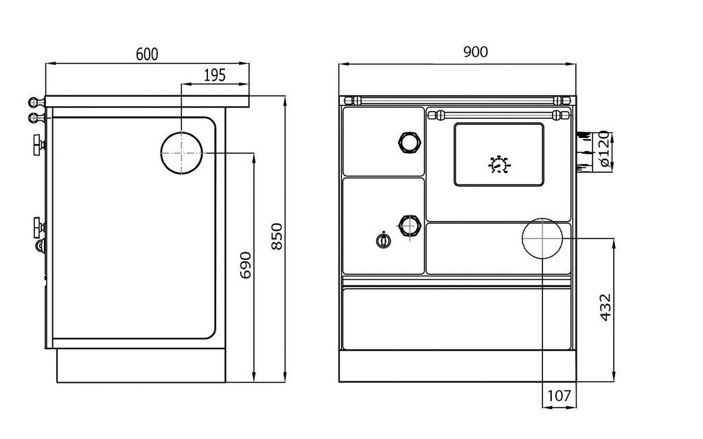 Wamsler Kchenherd Westminster K176 A F Style Hoedlshop for measurements 1600 X 1000
