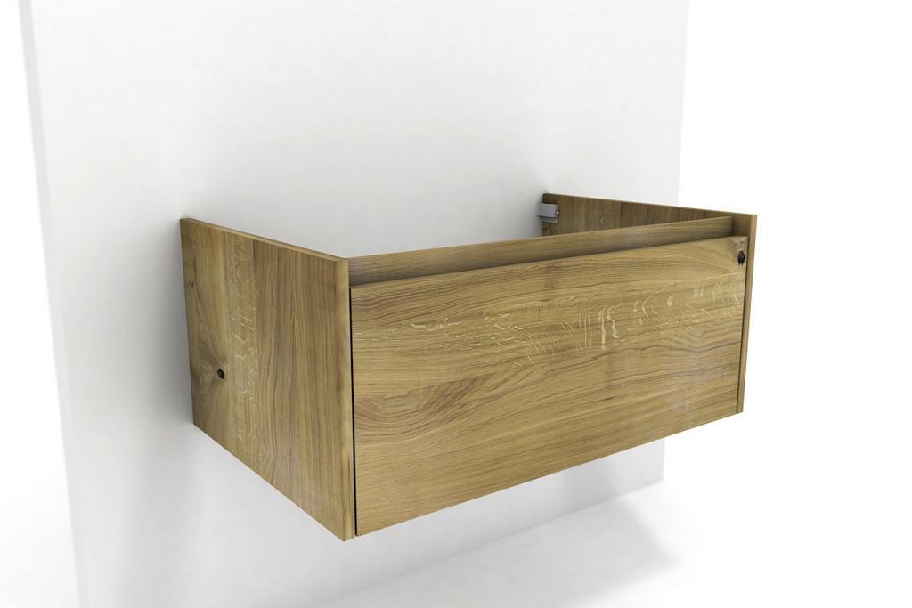 Waschbeckenunterschrank Holz Massiv Eiche in measurements 1200 X 800