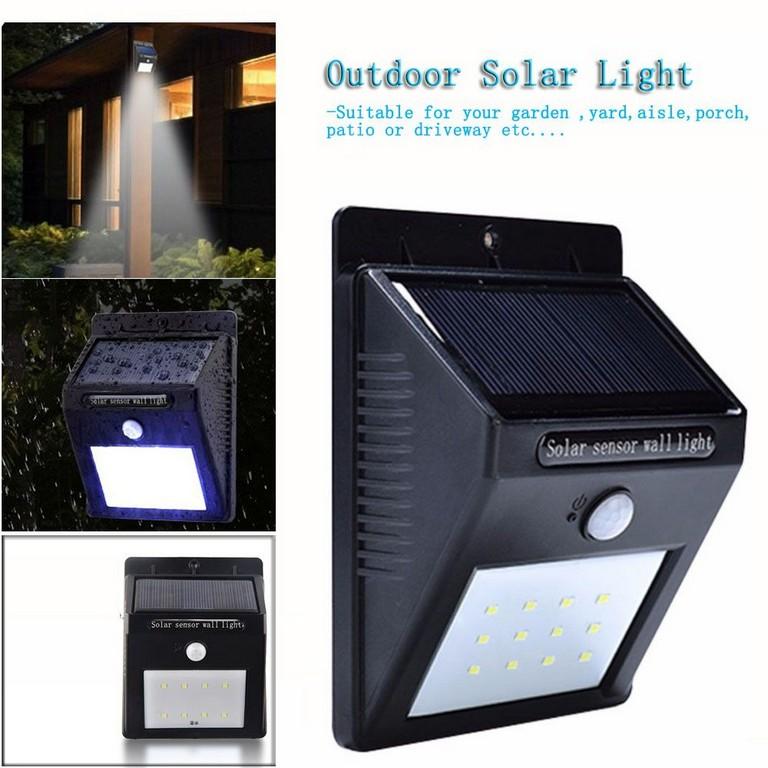 Wasserdichte Led Solar Licht Outdoor Solar Wandleuchte Lampe with regard to size 1000 X 1000