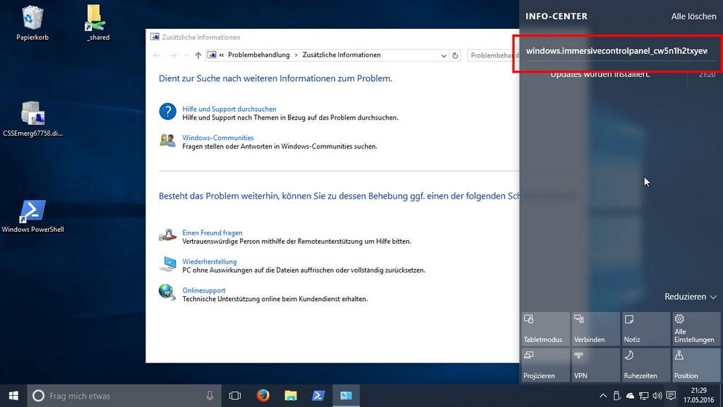 Windows 10 Einstellungen Lassen Sich Nicht Ffnen Lsung Giga with proportions 1280 X 720