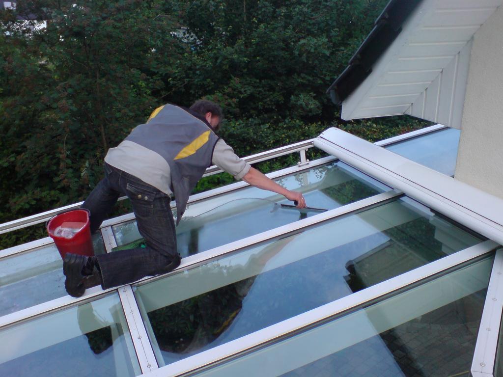 Wintergartenreinigung U Terrassendachreinigung Tiefenrein Glas U within dimensions 1024 X 768