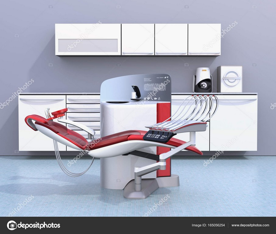 Zahnarztpraxis Interieur Mit Weien Einheit Ausrstung Schrank Und throughout sizing 1600 X 1357