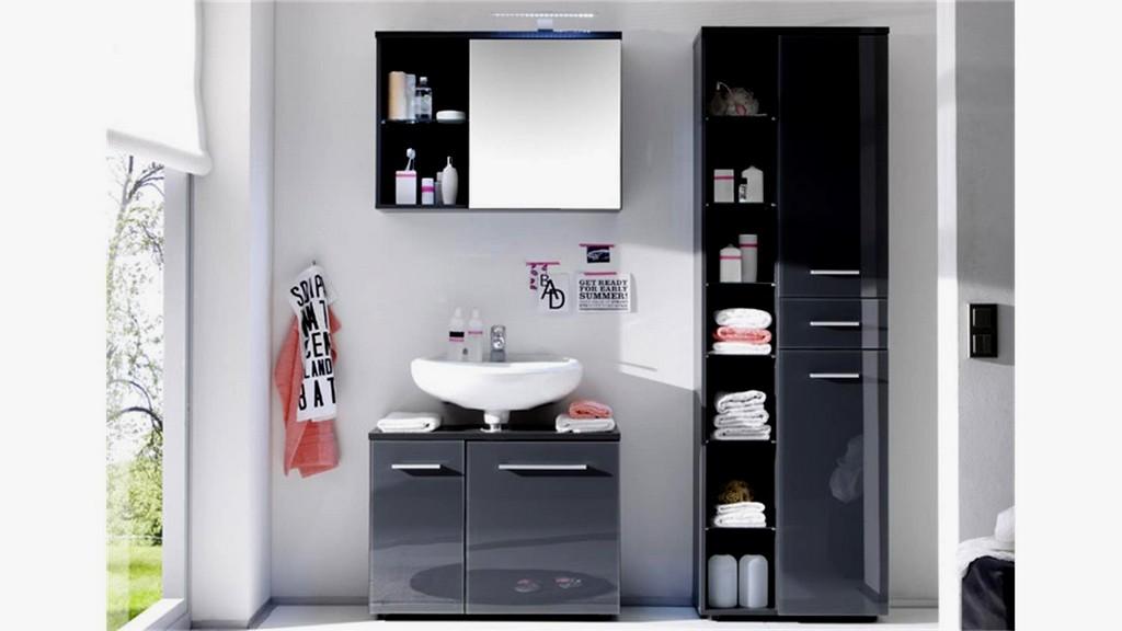 Ziemlich Schrnke Fr Badezimmer 13441099 Badezimmerset Grey 1 4105 within size 1500 X 844