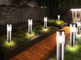 12er Set Led Solar Steck Leuchten Garten Weg Auen Beleuchtung Ip44 within measurements 1000 X 1000