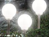 3er Set Led Solarleuchte Kugel Garten Beleuchtung Auen Leucht Lampe regarding sizing 1000 X 1000