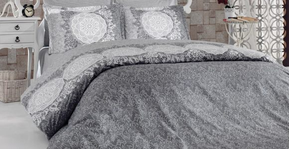 6 Tlg Bettwsche Bettgarnitur Bettbezug 100 Baumwolle Kissen throughout proportions 1600 X 1200