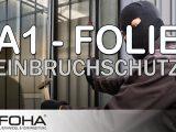 A1 Folie Schtzt Vor Einbruch Und Durchwurf In Fenstern Und Tren with proportions 1280 X 720
