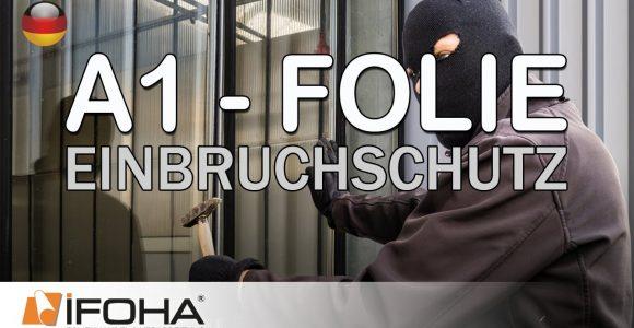 A1 Folie Schtzt Vor Einbruch Und Durchwurf In Fenstern Und Tren within proportions 1280 X 720