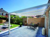 Alu Terrassenberdachung 4×2 Meter Vsg Glas 8 Mm Klar intended for dimensions 1181 X 787