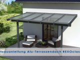 Alu Terrassenberdachung Aufbauanleitung Rexoclassic Version 2018 pertaining to sizing 1280 X 720