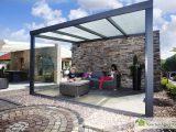 Alu Terrassenberdachung Le Polycarbonat 800 X 400 Gartenhaus Kingde in proportions 1280 X 853