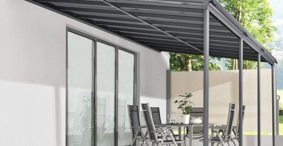 Aluminium Terrassendach Borneo 6x3m Mit Doppelsteg Platten In within size 1280 X 1280