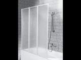 Aquaform Badewannenfaltwand Standard 3tlg Wei Kaufen Bei Hellwegde intended for proportions 1200 X 900
