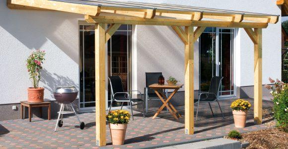 Aufbau Einer Leimholz Terrassenberdachung inside dimensions 4200 X 2568
