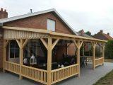 Azalp Terrassenberdachung Holz 850×300 Cm Kaufen Bei Azalpde intended for measurements 1920 X 1594