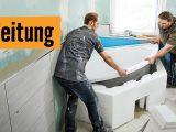 Badewanne Einbauen Mit Wannentrger Hornbach Meisterschmiede throughout size 1280 X 720