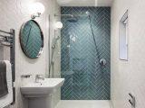 Badezimmer Inspiration Einfach Kleines Badezimmer Gros Wirken with regard to dimensions 928 X 922