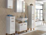 Badmbel Badezimmer Set Hochglanz Glanz Lack Wei Eiche Massiv Neu within dimensions 1280 X 1222