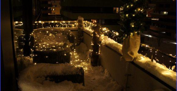 Balkon Beleuchtung Weihnachten Ziemlich Balkon Beleuchtung inside proportions 1200 X 800