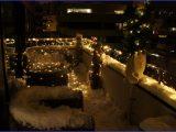 Balkon Weihnachten Wunderbare Balkon Beleuchtung Weihnachten throughout dimensions 1200 X 800