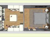 Begehbarer Cabinet Kleiderschrank Im Schlafzimmer Geplant Von Drr for dimensions 1280 X 720