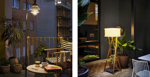 Beleuchtung Fr Terrasse Und Balkon Moebelde in sizing 1150 X 767