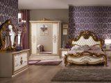Bett Anja 180×200 Beige Gold Italien Luxus Fr Schlafzimmer Le Anib regarding dimensions 1200 X 816