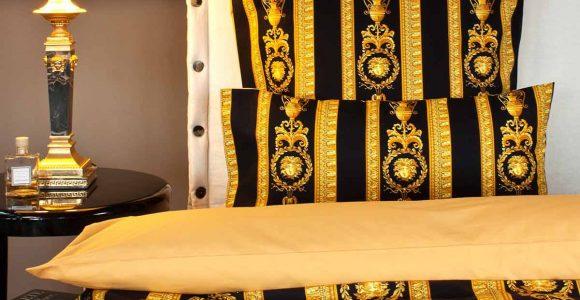 Bettwsche Medusa 100 Baumwollsatin Von Versace Home for dimensions 1200 X 1200