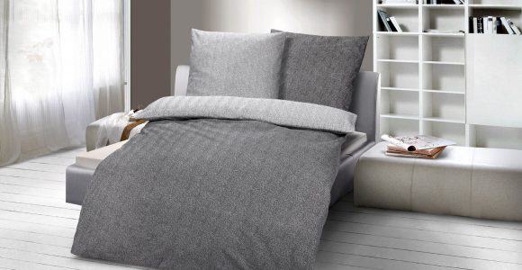 Jersey Bettwäsche Grau Meliert Archives Haus Ideen